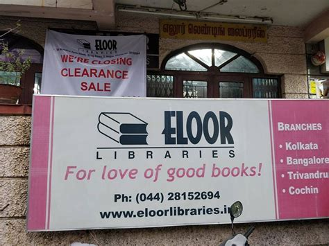 chennais eloor library shutting    years    reading books anymore