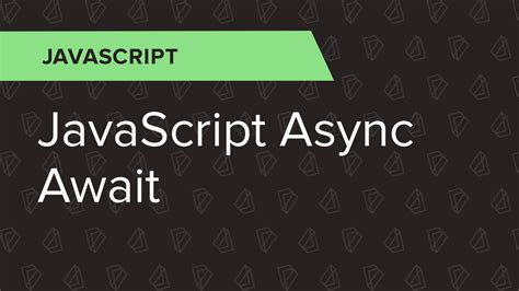 javascript async events callbacks promises and async await books sử dụng async await trong javascript nodejs với babeljs