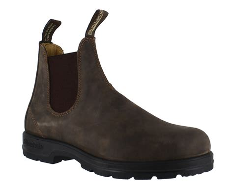 Drfaris Premium Leather Original Handmade Size 40 44 Box 1 blundstone 585 mens rustic brown leather classic dealer