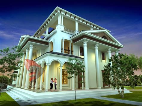 Luxury Bungalow House Plans India Beautiful House Executive Bungalow House Plans