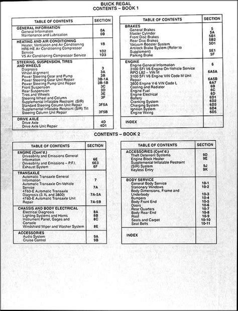 car engine manuals 1994 buick century security system service manual 1994 buick century factory security alarm manual haynes buick century 1997