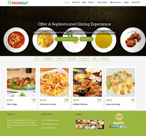 17 Online Food Ordering Delivery Website Templates Free Premium Templates Food Delivery Website Templates Free