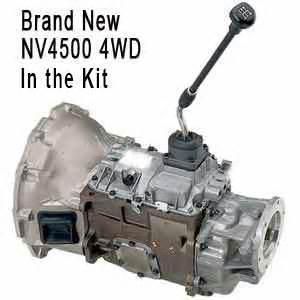 replace dodge diesel auto trans with new nv4500 5 speed