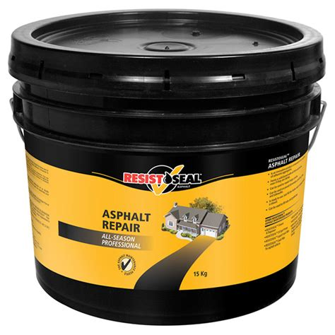 Asphalt Repair Home Depot by Resistoseal Quot Professional Quot Asphalt Repair R 233 No D 233 P 244 T
