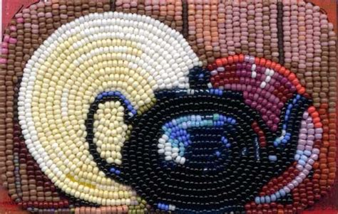 bead painting from a photograph
