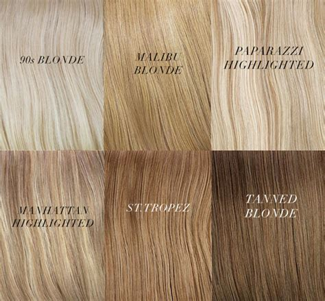 blonde shade colours blonde hair extensions shades inspirations from