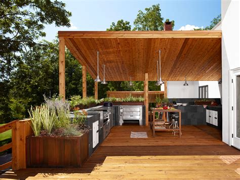 backyard kitchens home design inspiration modern outdoor kitchens studio