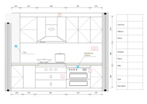 Design A Floor Plan Template Kitchen Elevations Elevation Diagram Solutions