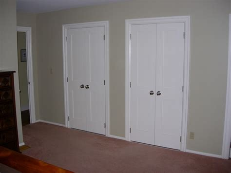 Bedroom Closet Doors Image Master Bedroom No Closet Door
