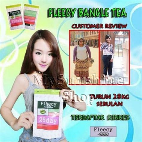 Best Seller Fleecy Bangle Tea Slimming Tea Teh Pelangsing fleecy bangle tea teh pelangsing terbukti berkhasiat
