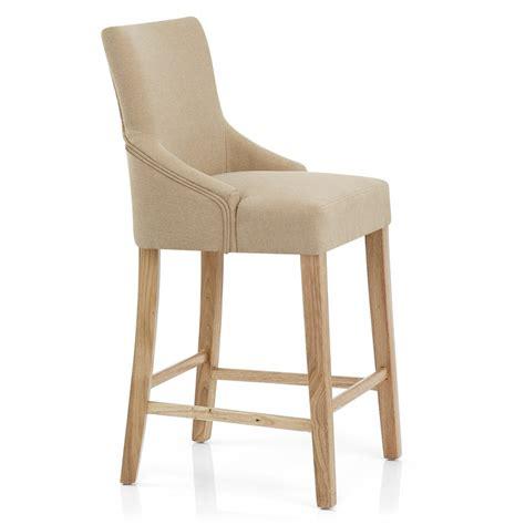 chaise de bar en bois chaise de bar tissu bois magna monde du tabouret