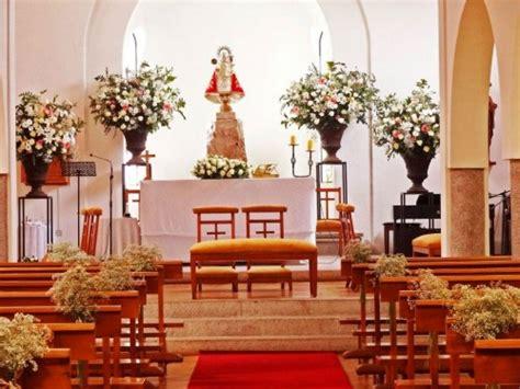 decoracion de iglesia para boda religiosa decoraci 243 n floral para una boda religiosa