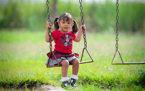 children swing wallpaper 2560x1600 child swing mood