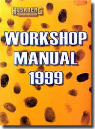1998 Husaberg 400 501 600 Motorcycle Workshop Manual