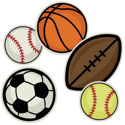 sports clipart sports balls clipart clipartion