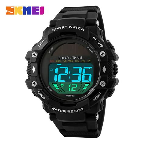 New Arrival Skmei S Shock Pedometer Sport Dg1112s Original skmei 1129 multifunction solar power led digital watches