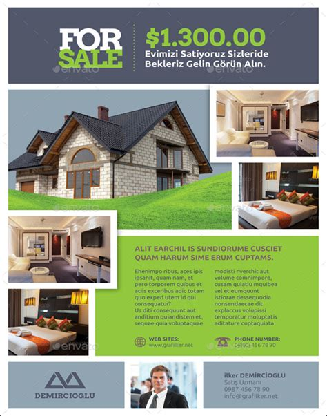 commercial real estate templates 100 free real estate flyer psd templates