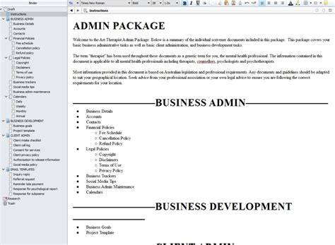 scrivener resume template review of scrivener for content writing as a therapist