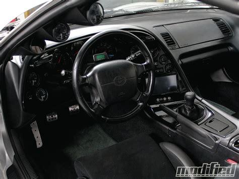 Inside Toyota Supra первый вариант интерьера бортжурнал Brt Roadster Crimea