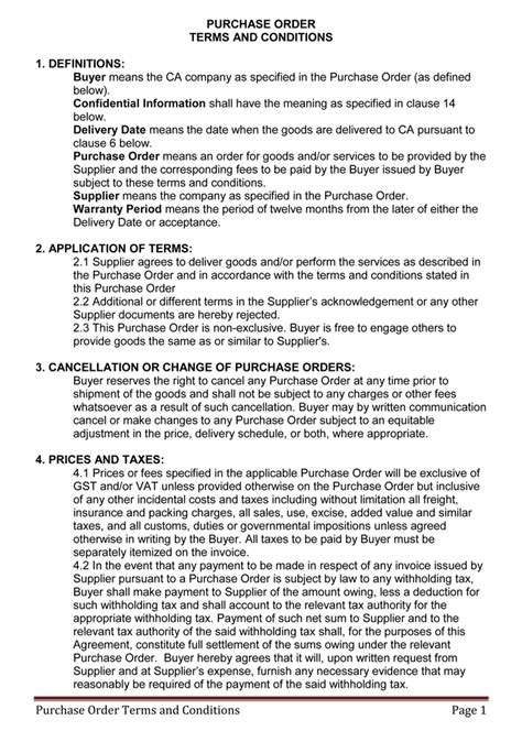 Terms and Conditions Templates to Write Polices for Your
