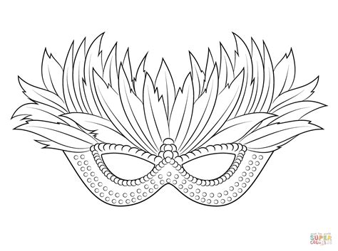 mardi gras mask coloring pages printable venetian mardi gras mask coloring page free printable