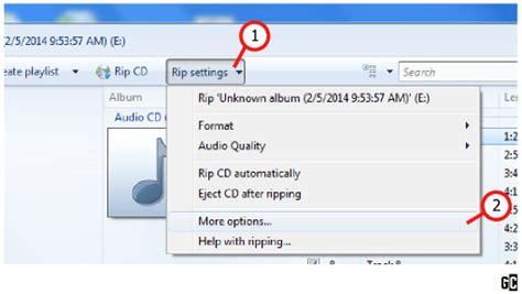 cd format komputer cara memindahkan copy lagu pada cd original ke komputer