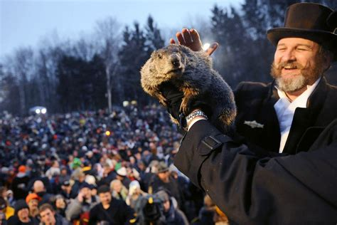 groundhog day town transformed punxsutawney s small town tradition into