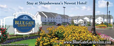 Bluegate Garden Inn by Shipshewana S Home Of The Blue Gate Restaurant And Theater