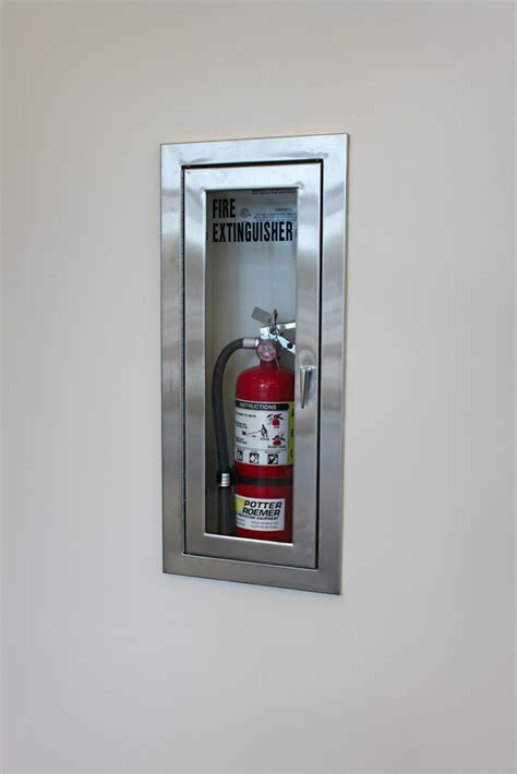 recessed fire extinguisher cabinets uk photo view potter roemer