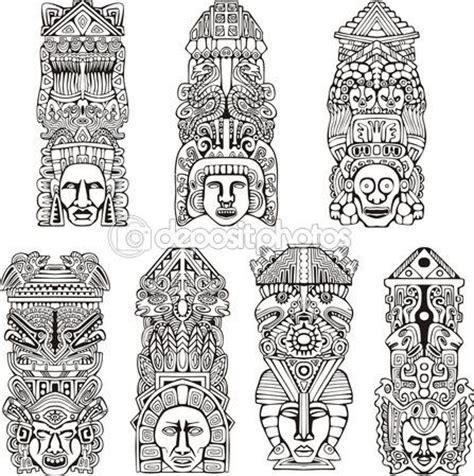imagenes de totem mayas aztec totempf 228 hle tattoo pinterest aztekisch