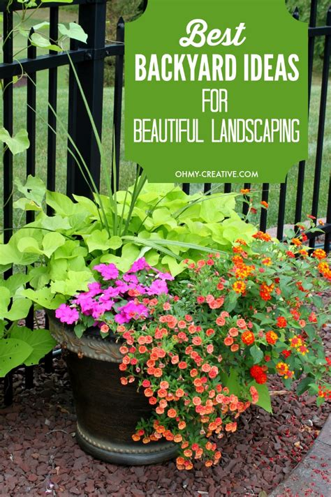 best backyard ideas best backyard ideas for landscaping oh my creative