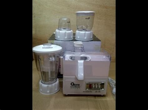 Blender Oxone 867 juicer and blender 4in1 oxone ox 867 unboxing