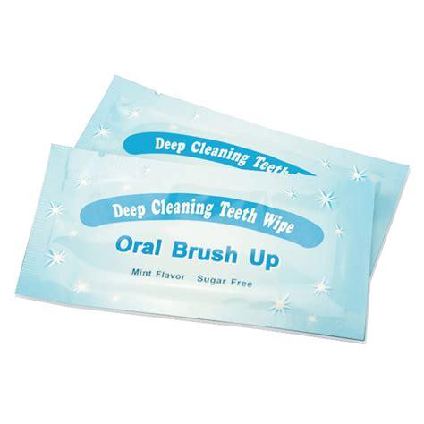 grinigh grinigh finger slip  disposable teeth wipes