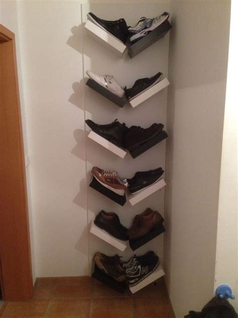 8 creative diy entry shoes storage solutions shelterness schuhe mal ordentlich schuhregal ikea hack selbst