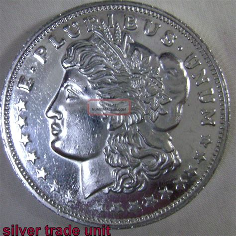 1 Troy Ounce Silver - one troy ounce 999 silver silver trade unit coin 31