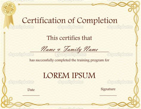 anger management certificate template best photos of certificate of completion editable template