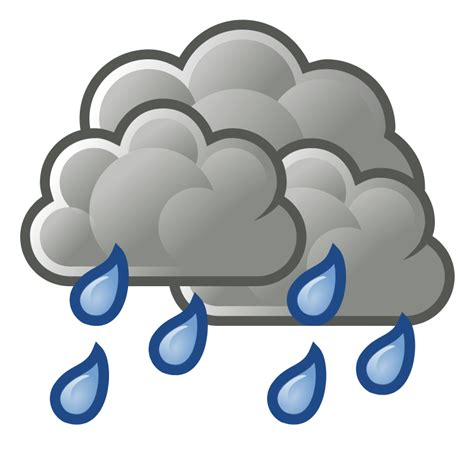 Showers Weather by Weather Showers Scattered Free Vector 4vector