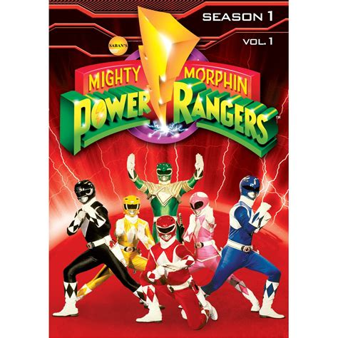 mighty morphin power rangers vol 4 dvd review mighty morphin power rangers season one volume