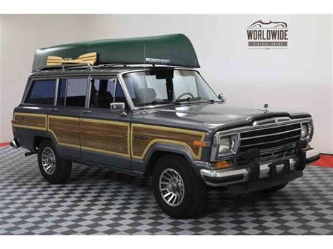 jeep wagoneer for sale 1988 jeep grand wagoneer for sale classiccars com cc