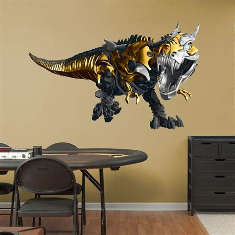 transformers wall stickers grimlock age of extinction wall decal shop fathead 174 for transformers decor