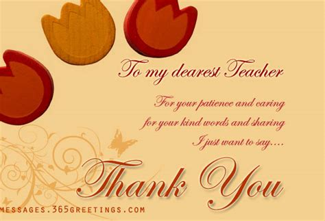 thanksgiving card for teachers template thank you messages for teachers 365greetings