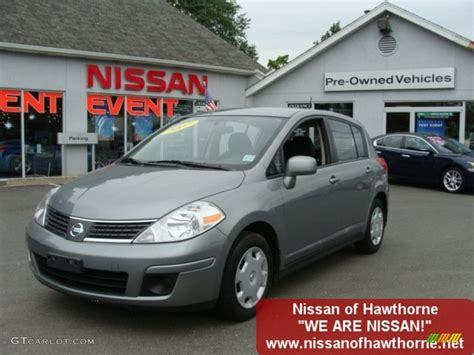 dark grey nissan versa 2007 magnetic grey metallic nissan versa s 32467084