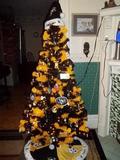 images of a steelers christmas tree lacy king on quot best tree penguins steelers christams