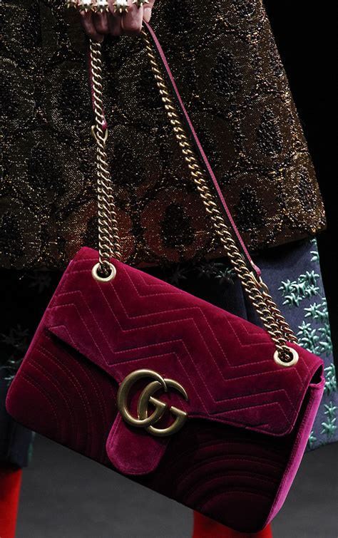 Gucci Handbags Top 10 From Winter Collection by Gucci Fall Winter 2016 Bag Runway Bag Collection