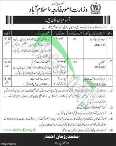 Mofa Jobs 2018 by Ministry Of Foreign Affairs Mofa Jobs 2014 In Punjab