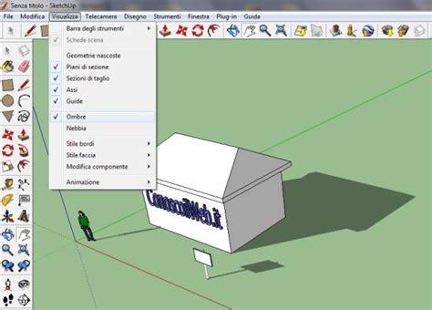 tutorial sketchup mac sketchup tutorial inserire le ombre