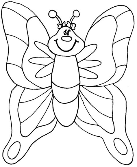 very big colouring and 140956651x simple a very big fat butterfly coloring pages butterfly cartoon coloring home