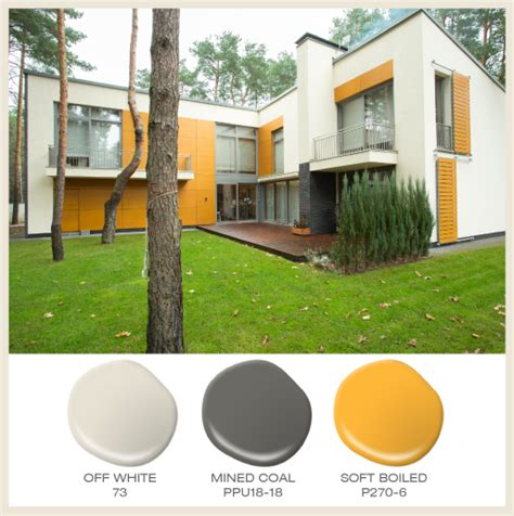 colorfully behr color of the month yellow
