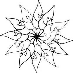 Outline Sketches Of Flowers by Flower Outline Designs Clipart Best