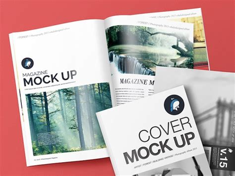 15 Latest Free Magazine Psd Mockup Templates Devzum Free Magazine Mockup Psd Template
